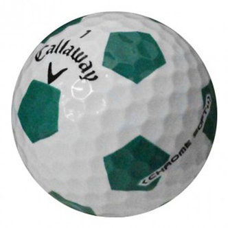 Callaway Chrome Soft Truvis Green Soccer - Recycled