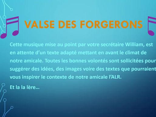 Petite Valse des Forgerons
