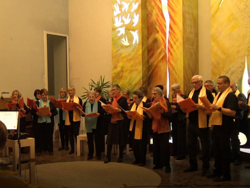 Le 21 février, la chorale de l'ALR se produit à la chapelle des Forges.
