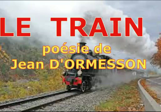 La vie est un long voyage en train...