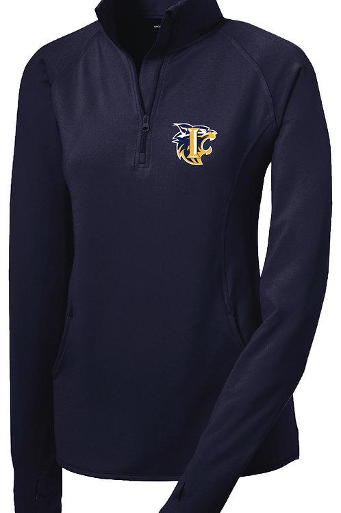 Ladies Embroidered 1/2 Zip Dri-fit Pullover