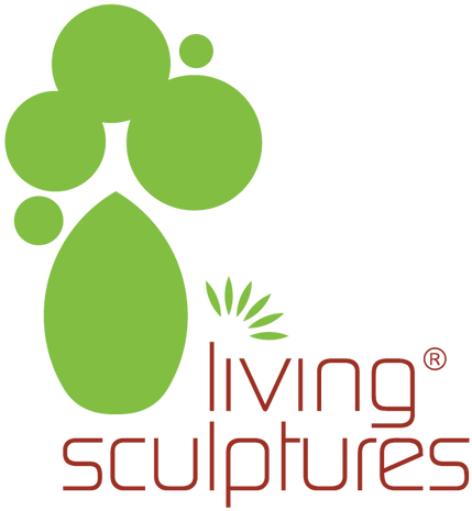 Living Sculptures logo website