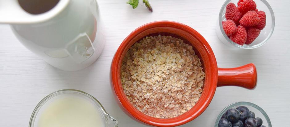 Overnight oats - perfekt för morgontrötta!