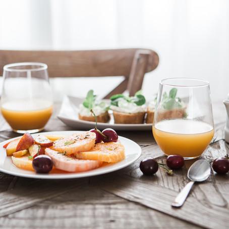 Nytt tag på frukost!
