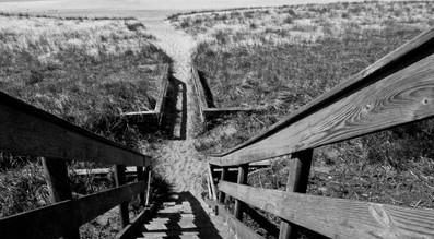 Beach Stairs I