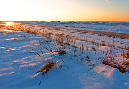 Michiana Winter Beach II