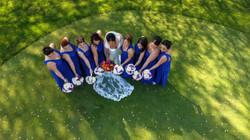 bridesmaids photography wedding