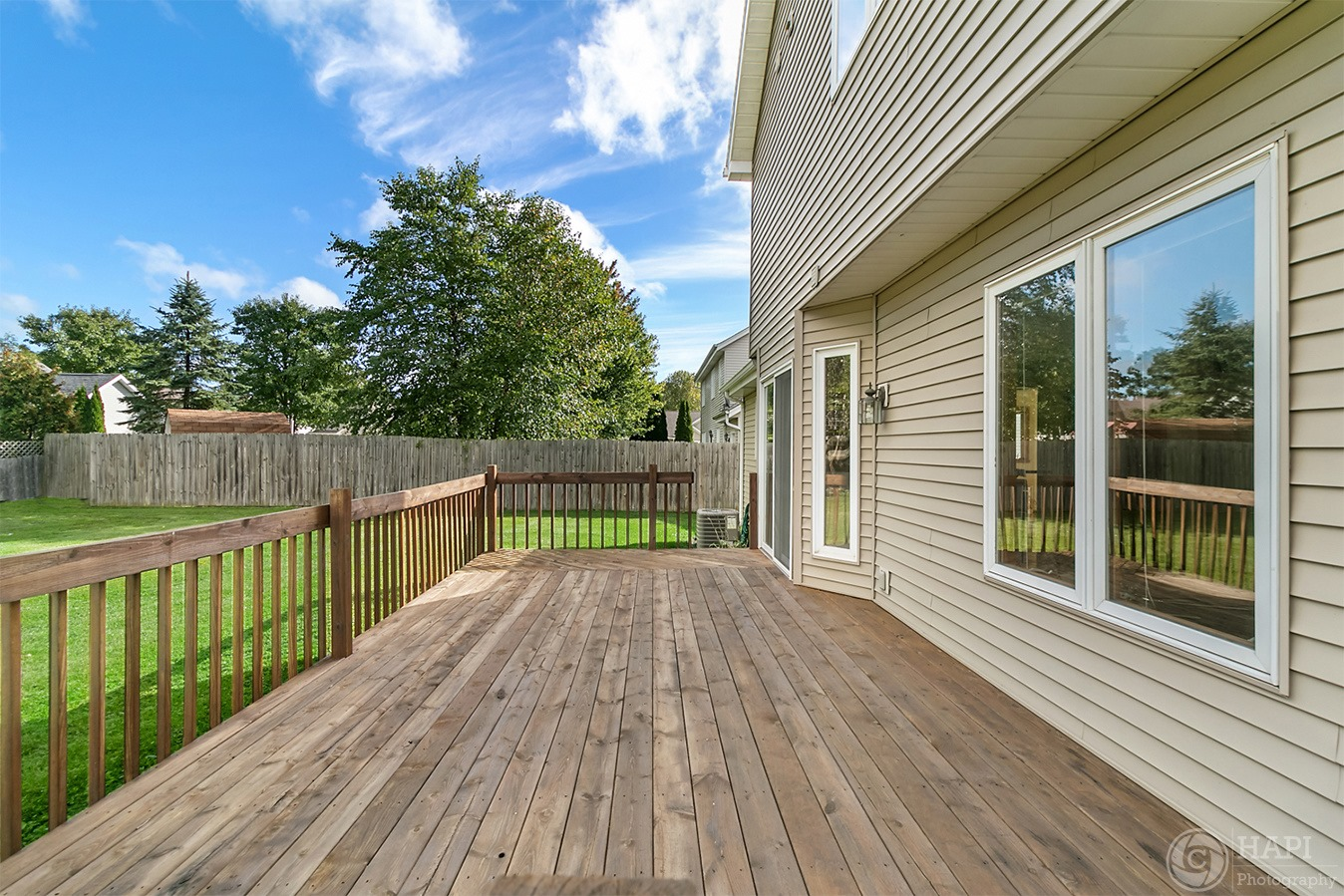 REAL ESTATE PHOTOGRAPHY  DECK PHOTO PATI