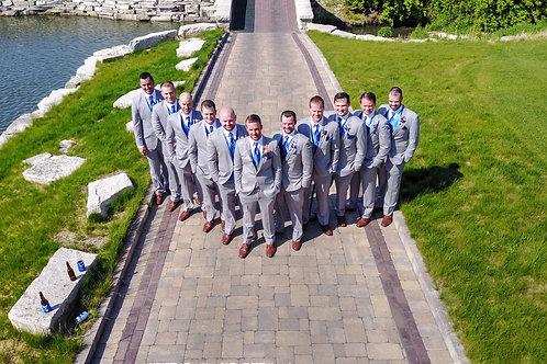 Unique Aerial Wedding Photography
