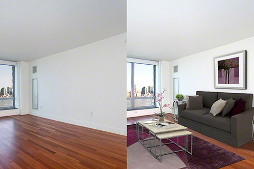Virtual Staging Photography Service
