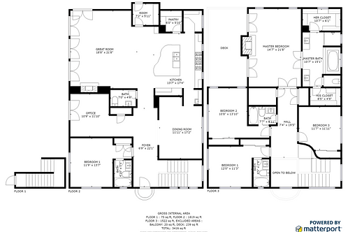 Residential & Commercial Floor Plans