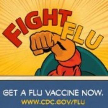 Fight the flu. Get a flu vaccine now.