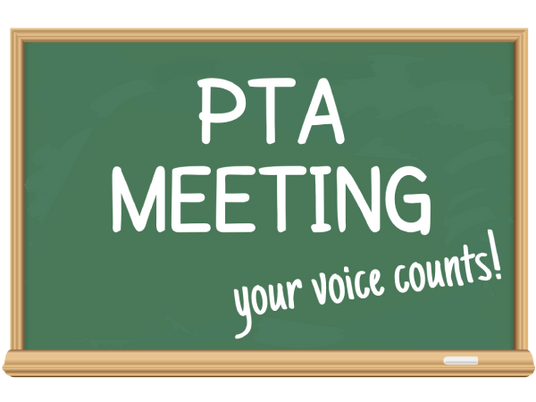 PTA Meeting - Tuesday, October 5th 2021