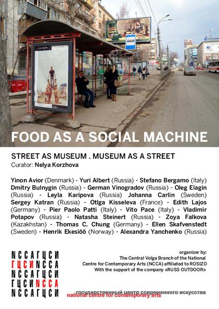 FOOD AS A SOCIAL MACHINE