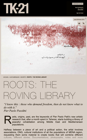 ROOTS: THE ROVING LIBRARY