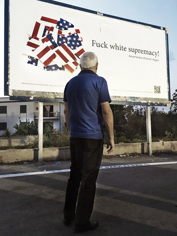 Fuck white supremacy!