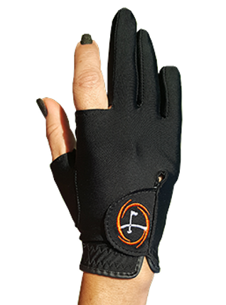 golf glove for the dominant hand