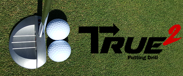 WARNING: Amazing Putting Aid is Addictive! Take the TRUE² (True-Sq) Challenge! [Putting Drill]