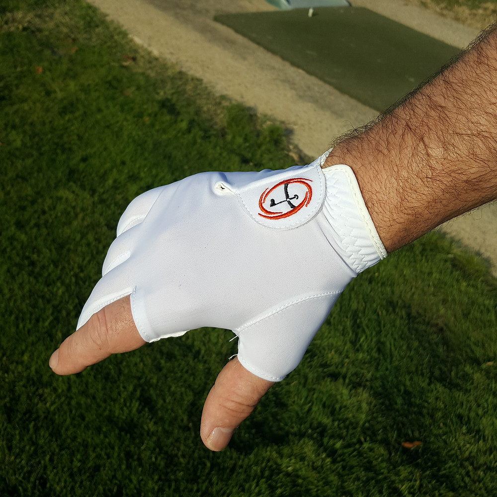 Can be worn with other glove. Model shown to demonstrate difference.