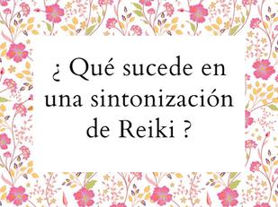 Sintonización de Reiki