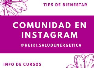 🌸 Seguinos en Instagram! 🌸