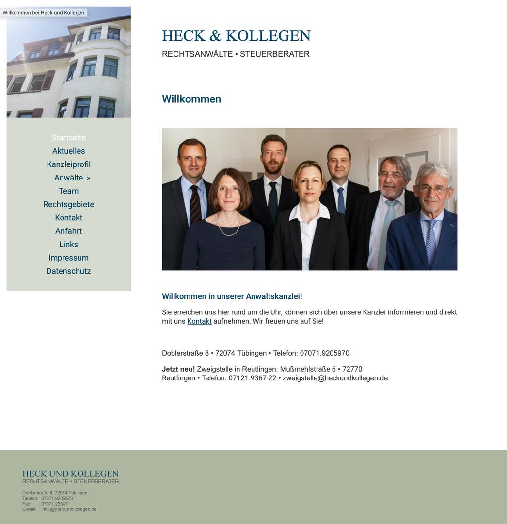 Heck und Kollegen Anwälte