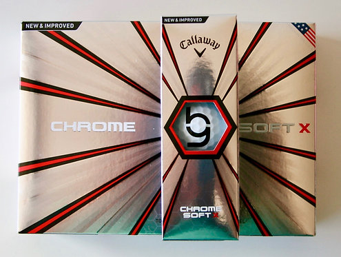 2018 Chrome Soft Golf Balls - Hit the Green