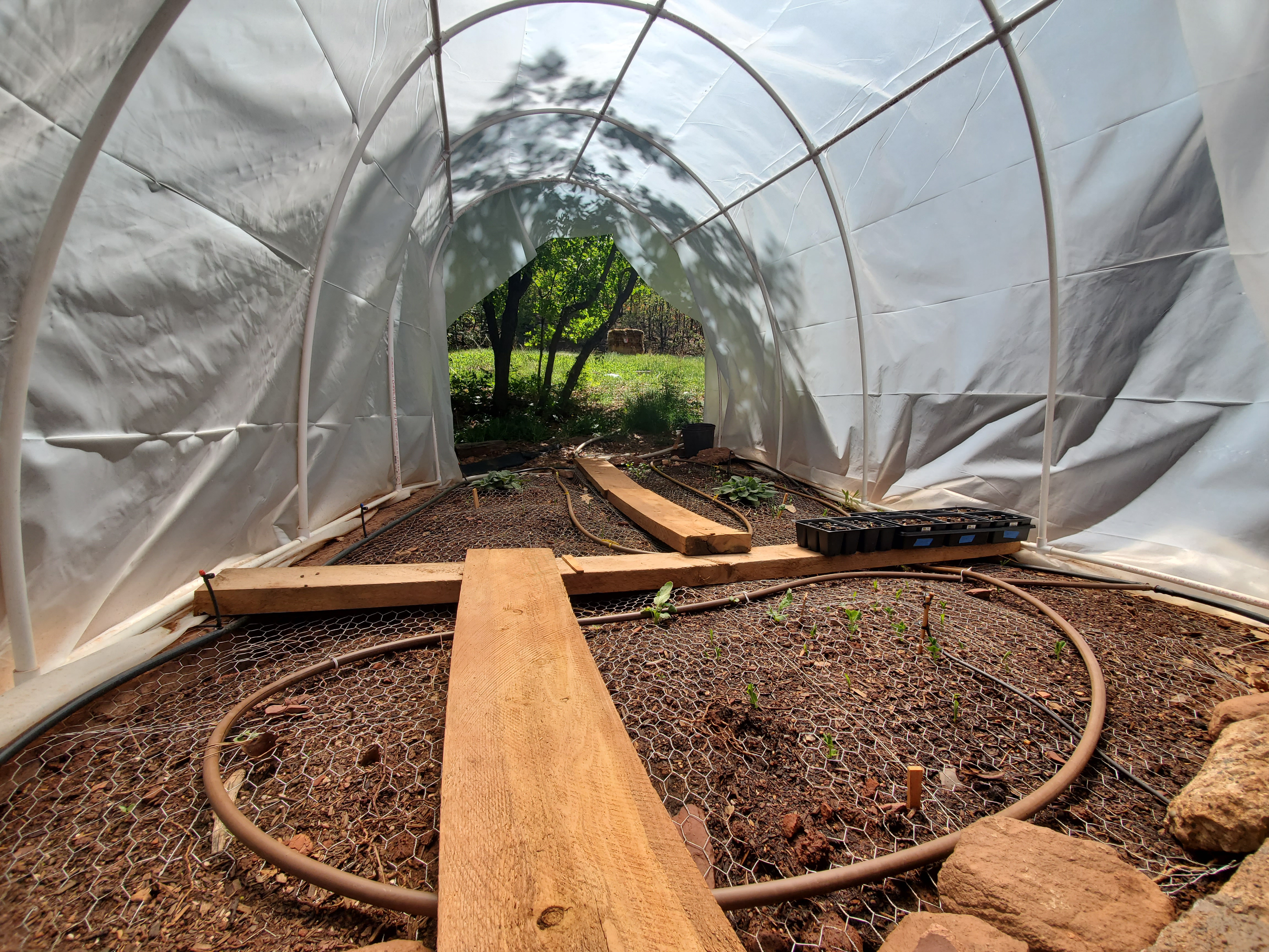 Complete Garden, Automated Hoop House