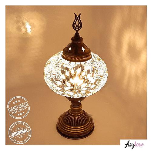 Turkish Lamp, Turkish Desk Lamp, with a Large Size Globe. 100% Handmade