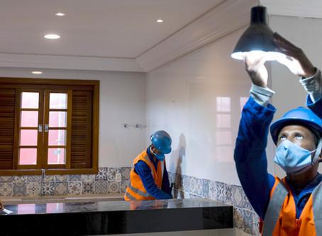 Bento Rodrigues: infraestrutura em conclusão e primeiras casas prontas