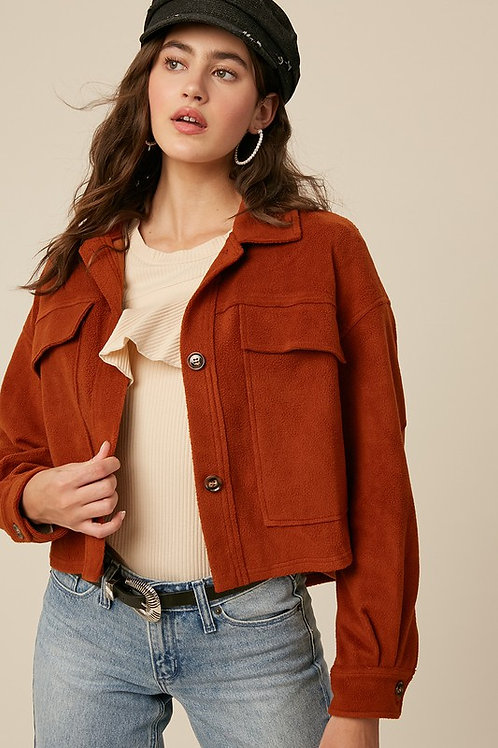 Patch Sleeve Jacket PRE ORDER 12/4