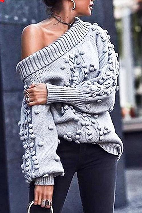 Off Shoulder Sweater PRE ORDER 12/4
