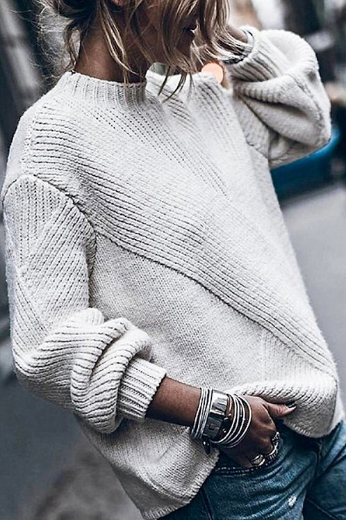 PuffSleeve Sweater