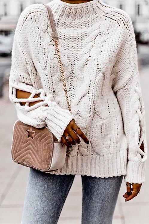 Sleeve Detail Sweater PRE ORDER 11/19