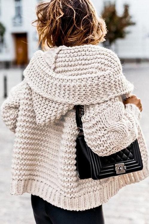 Chunky Knit Cardigan PRE ORDER 12/9