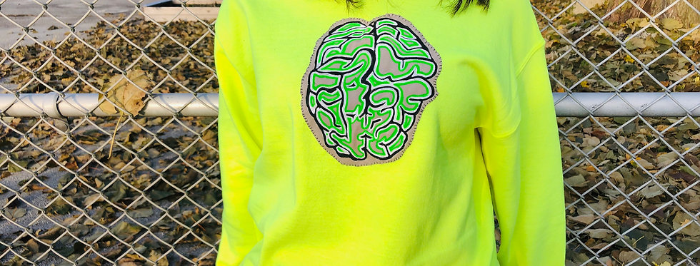 Brain Wave Crew Neck