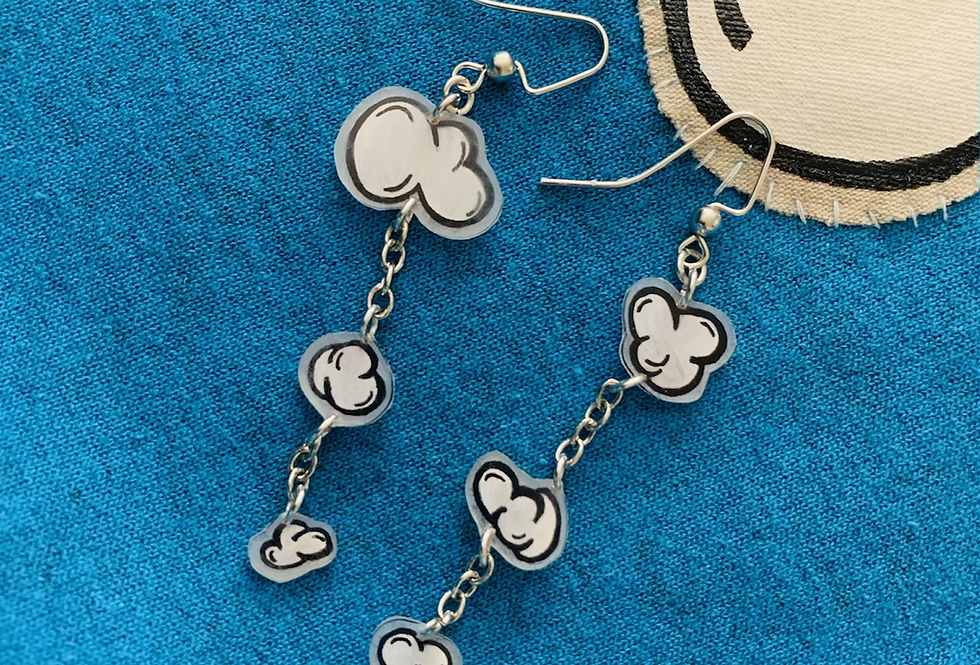 Hanging Cloud Earrings