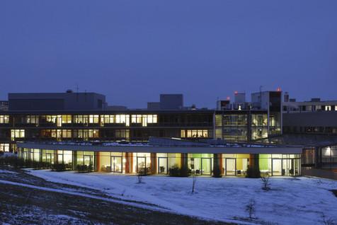neubau zentrum für palliativmedizin universitätsklinikum, jena