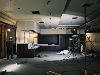 ホテルの改修工事@函館市