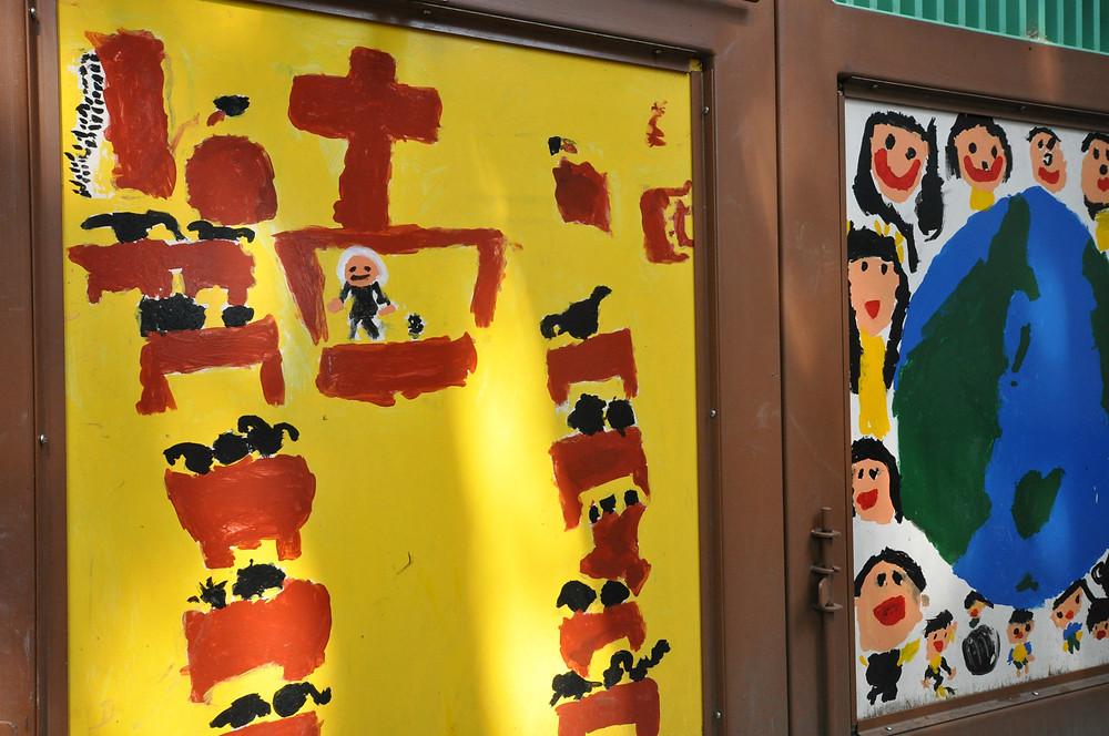 幼稚園の耐震補強