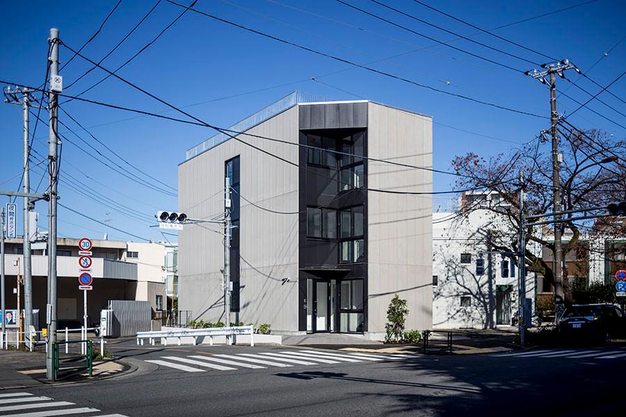 哲学堂のオフィス