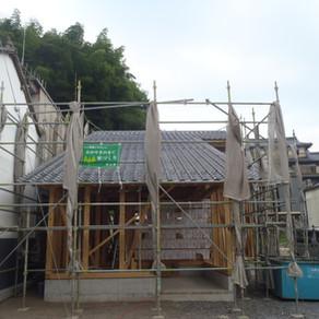 真庭市勝山の店舗付き住宅新築工事