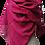 Thumbnail: ETOLE voile de lin - Fuchsia