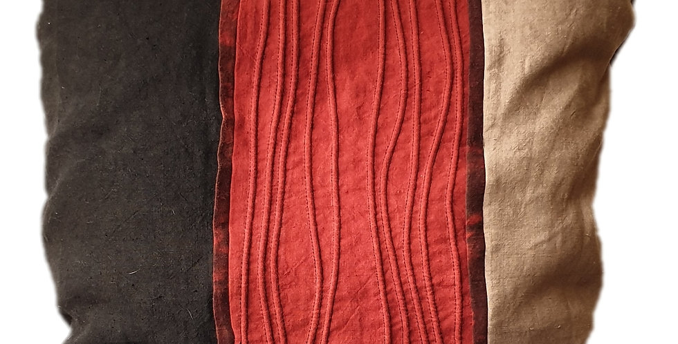 Coussin Boutis Rouge