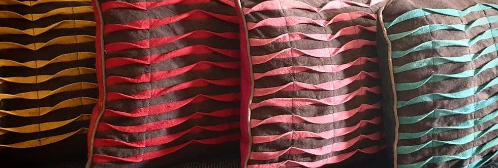 Coussin ondine (plusieurs coloris)