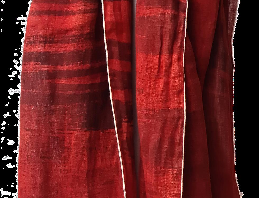 ETOLE voile de lin - Rouge