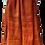 Thumbnail: Etole Voile de lin - Shibori - Brique