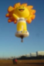 Balão com formato especial
