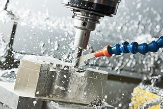 Milling metalworking process. Industrial