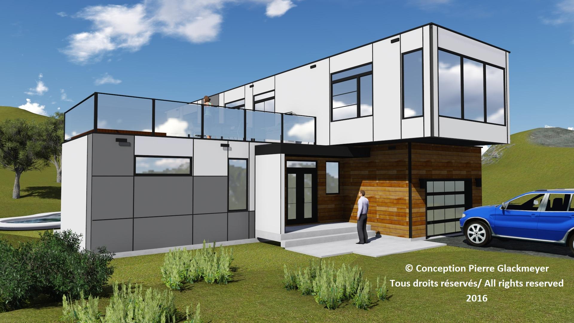 Plan maison offert pour ce terrain